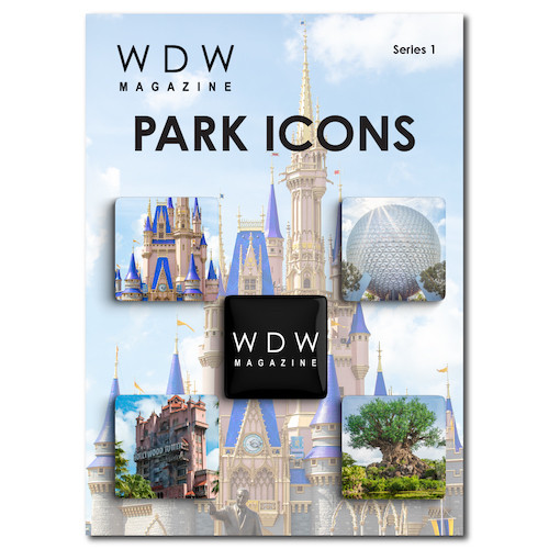 WDW Magazine Buttons Series 1 - Park Icons