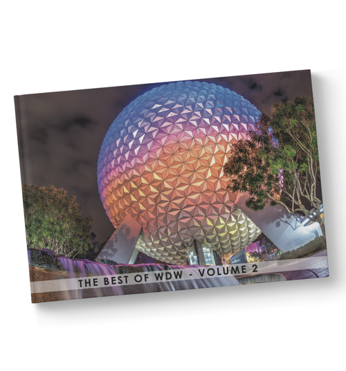 The Best of WDW - Volume 2 is a hardcover book