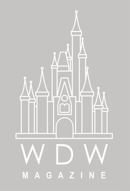 WDW Magazine Sticker design