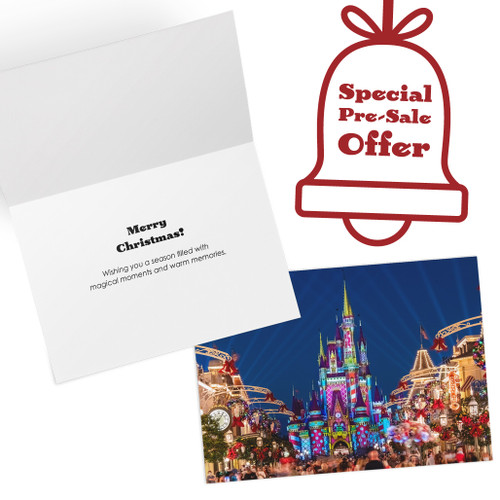 Cinderella Castle Christmas Cards include a SPECIAL PRE-SALE OFFER!