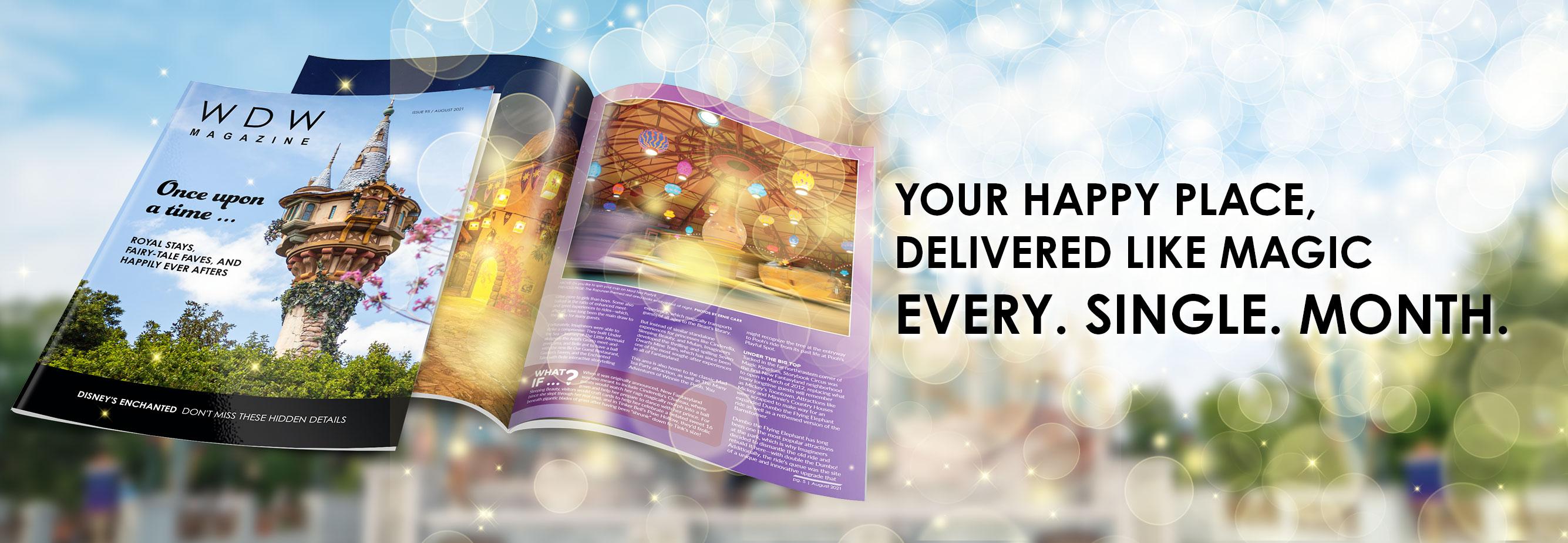 WDW Magazine Print Subscription