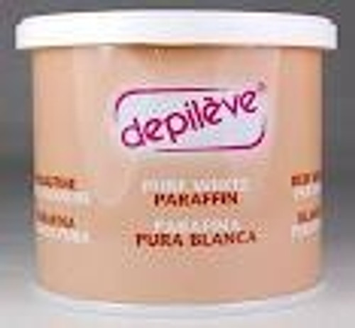 Depileve - Unscented Facial Pure White Paraffin Unscented pure white paraffin with Vitamin E.