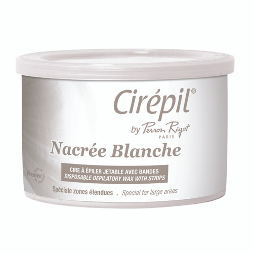 Cirepil Nacree Blanche Wax may be used at a very, very low temperature.
