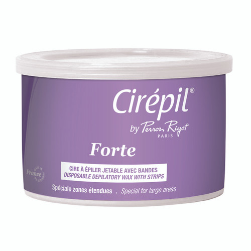 Forte Wax, 400g Tin; strip wax for hard-to-remove and resistant medium to coarse hair.