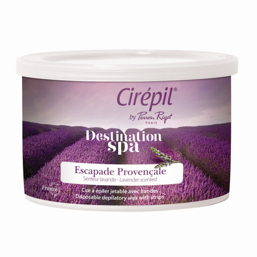 Lavender is a low temperature strip wax for sensitive skin.