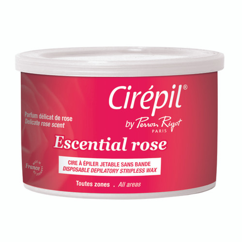 Escential Rose is a non-strip wax that is comforting and harmonizing to the skin. Removed without a strip.
