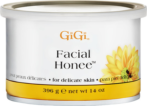 Facial Honee Wax 14 oz.  Developed specifically for facial areas.  Gentle for sensitive skin.