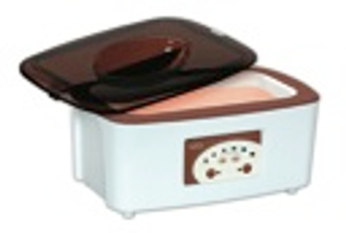 Digital Steel Bowl Paraffin Bath.  Digital Control for precise, exact, perfect wax temperature.