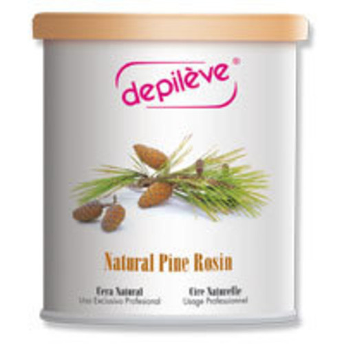 Depileve's original pine rosin wax has a thin, easy-to-use consistency.  This 28 oz. is perfect for large areas.