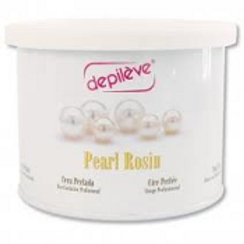 Depileve Pearl Rosin Wax. It is tough on hair but gentle on skin.