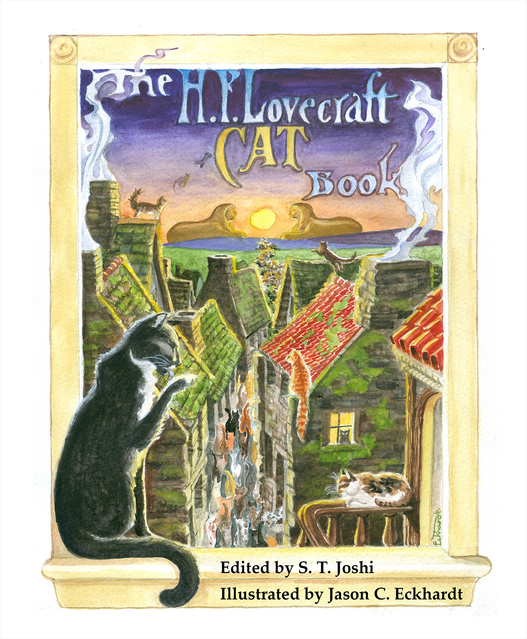 The H  P  Lovecraft Cat Book