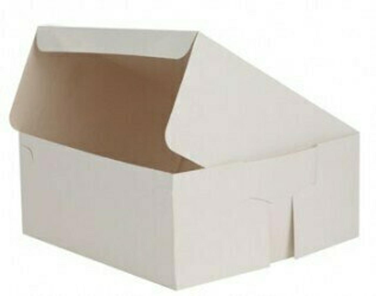 Cake Box White Flat Size 12x12x6 Pack Size 50