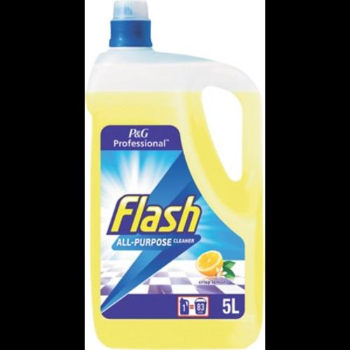 Flash Lemon Floor Cleanser 5L - Pack SIze 1