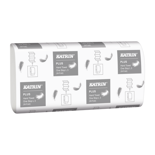 Katrin Plus Hand Towels One Stop L3 3PLY Pack Size 1890 Sheets