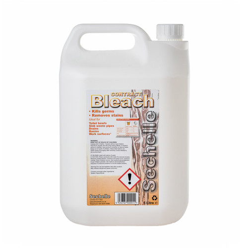 Sechelle Contract Bleach 5lt Pack Size 1