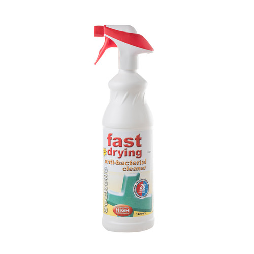 Sechelle Fast Dry Anti Bac Kitchen Cleaner 1lt Pack Size 6