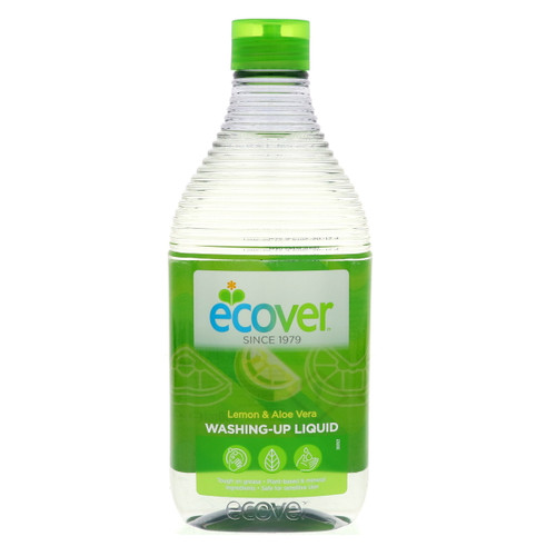 Ecover Washing Up Liquid Lemon & Aloe Vera 450ml Pack Size 12