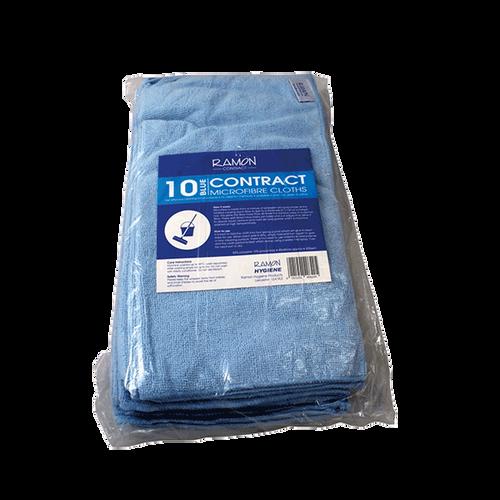 Microfibre Cloths Large 40x40cm Pack Size 10