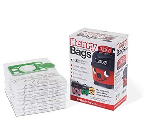 Numatic Hepaflow Dust Bags Pack Size 10
