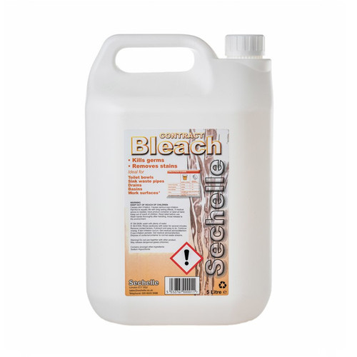 Sechelle Contract Bleach 5lt Pack Size 2
