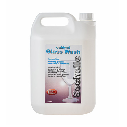 Sechelle Cabinet Glass Wash 5lt Pack Size 1