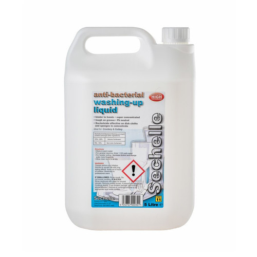 Washing Up Liquid Anti Bac Sechelle 5lt Pack Size 2