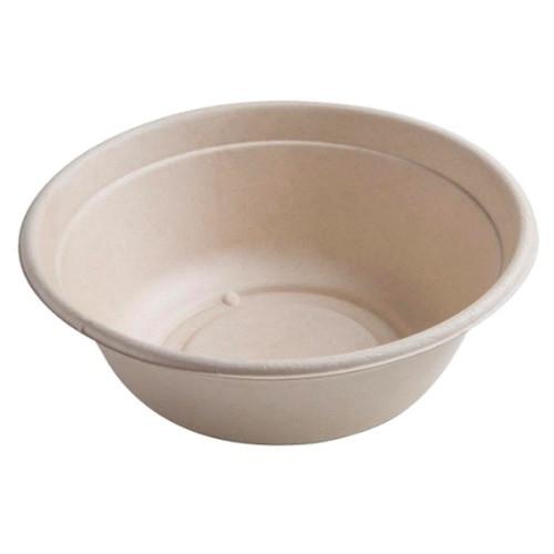 Sabert Round BePulp Bagasse Bowl and Lid 1500ml  Pack Size 75