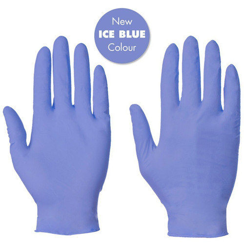 Gloves Blue Nitrile Powder Free Pack Size 1000