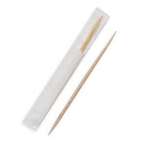 Toothpicks Wooden Individually Wrapped Pack Size 1000