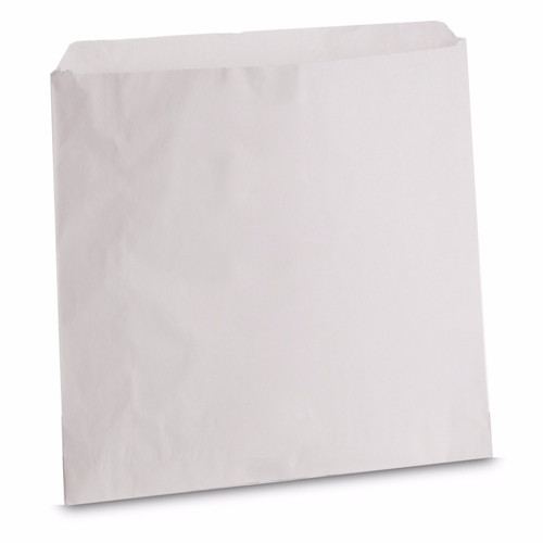 Greaseproof White Paper Bags Size 8.5x8.5 Pack Size 1000