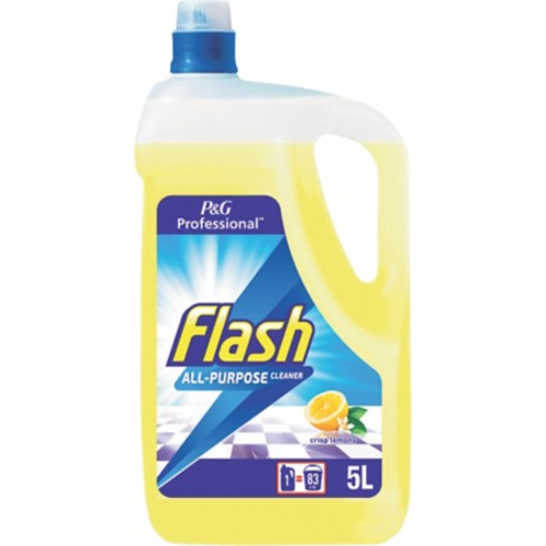 Flash Lemon Floor Cleanser 5L - Pack SIze 2