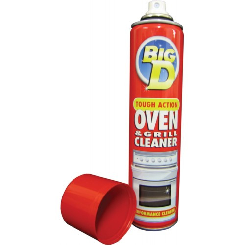 Big D Oven Cleaner Spray Size 300ml Pack Size 6