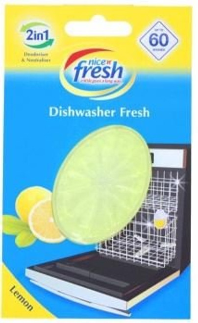 Dishwasher Freshener Lemon Pack Size 10
