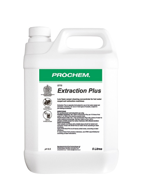Extraction Plus  5lt Pack Size Single