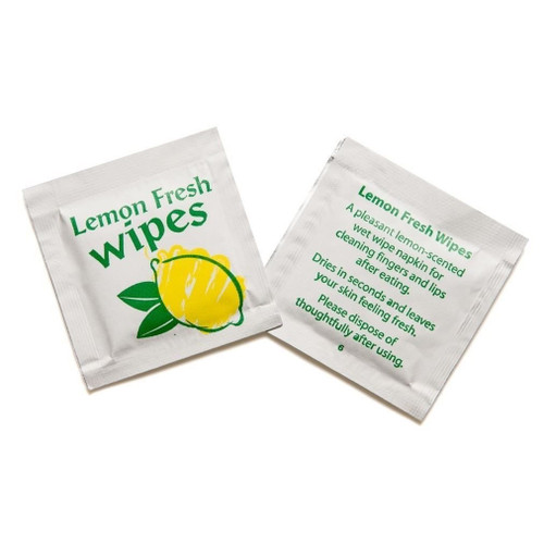 Citrus Wet Wipes Pack Size 1000s