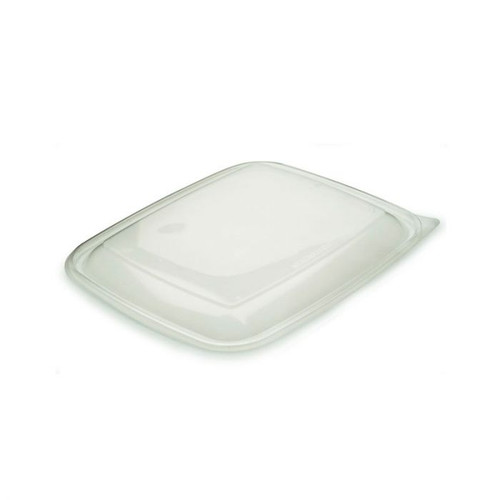 Sabert 900ml PP Lids For Microwaveable Rectangular Tray