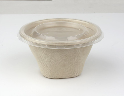 Sabert Hot 2 Go Round Bowl With PP Lid 500ml Pack Size 100