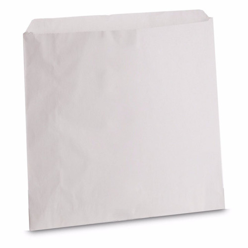 Greaseproof  White Paper With Clear Window Bags Size 8.5x8.5 Pack Size 1000