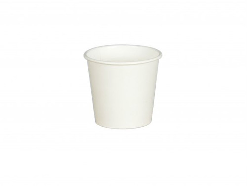 White Paper Single Wall Cups 4oz Pack Size 1000
