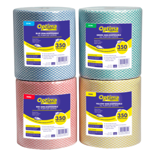 Optima All Purpose Cloths Pack Size 1Roll
