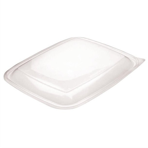 Sabert 1350ml PP Lids For Microwaveable Rectangular Tray
