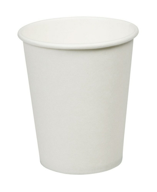 White Paper Double Wall Cups 8oz Pack Size 500