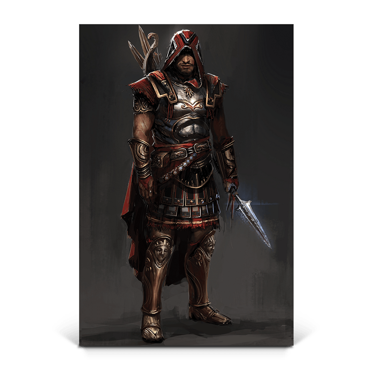 Heavy Armour Assassin S Creed Odyssey Gaming Wall Art Ubisoft