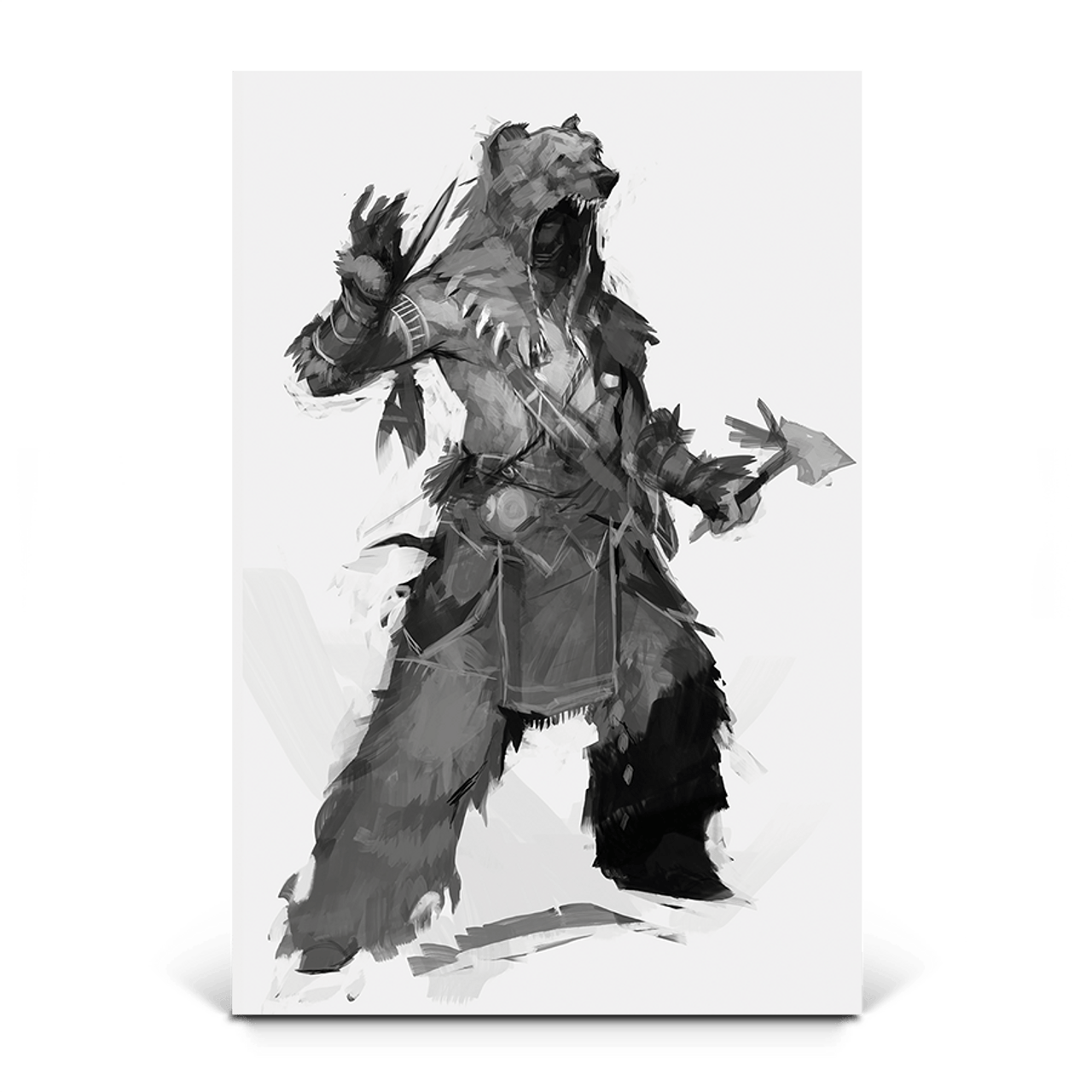 Power Of The Bear Assassin S Creed 3 Gaming Wall Art Ubisoft Store