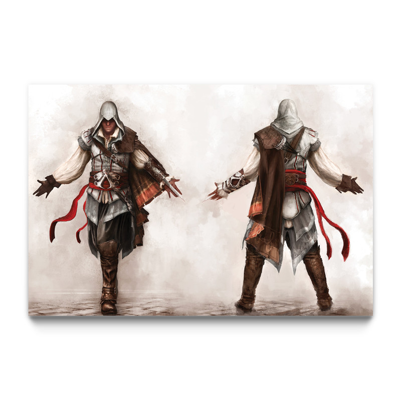 Joining The Brotherhood Assassin S Creed 2 Gaming Wall Art
