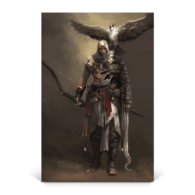 Bayek Senu Assassin S Creed Origins Gaming Wall Art Ubisoft Store