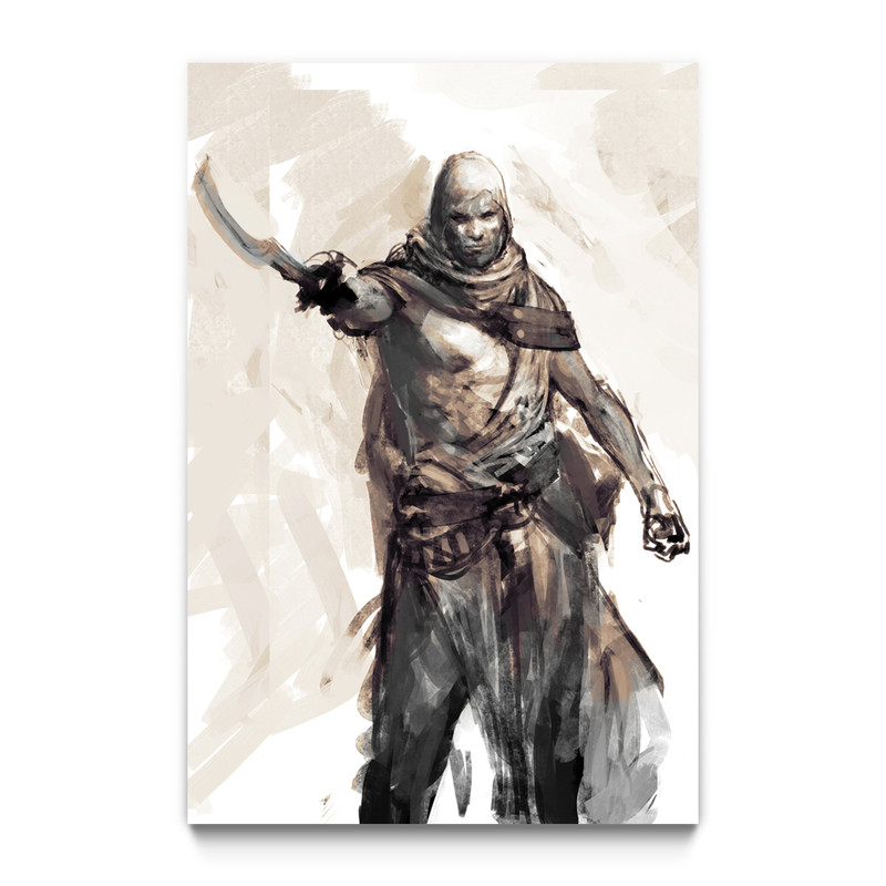 The Medjay Assassin S Creed Origins Gaming Wall Art Ubisoft Store