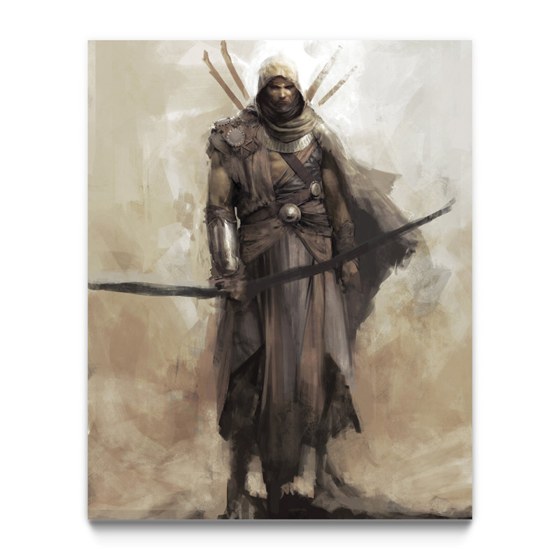 The Hidden One Assassin S Creed Origins Gaming Wall Art