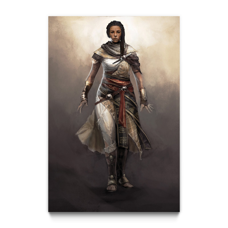 Aya Assassin S Creed Origins Gaming Wall Art Ubisoft Store