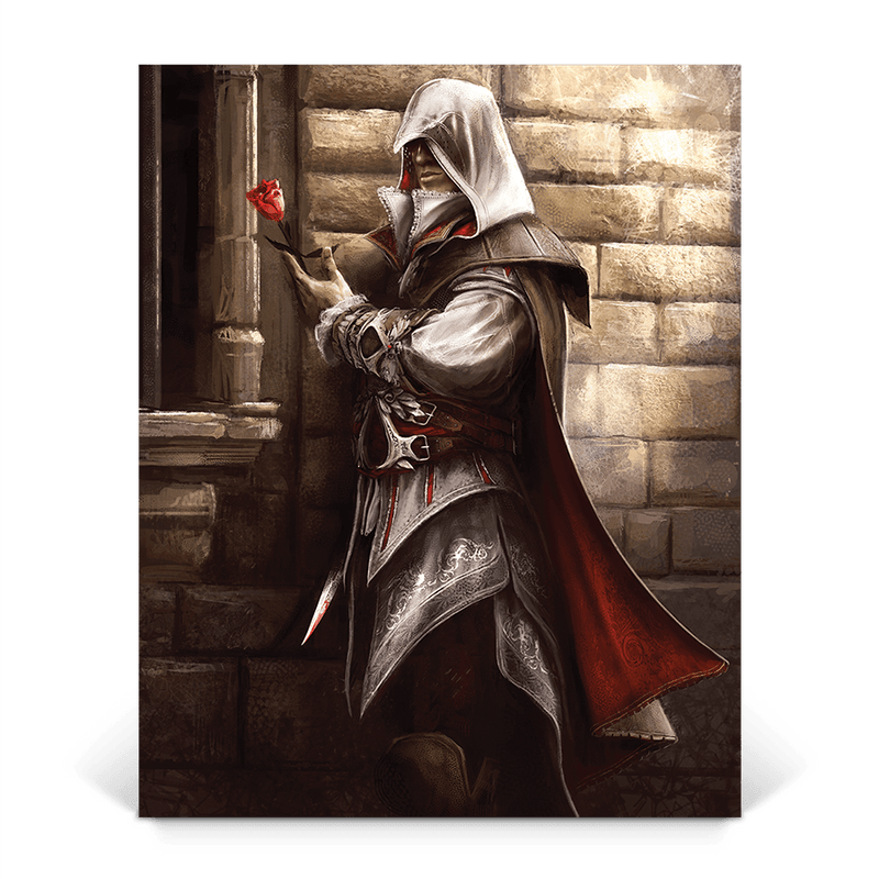 La Vie En Rose Assassin S Creed 2 Gaming Wall Art Ubisoft Store